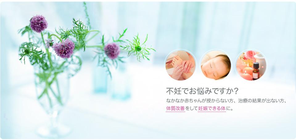 不妊でお悩みですか?なかなか赤ちゃんが授からない方、治療の結果が出ない方、体質改善をして妊娠できる体に。